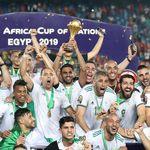 Sujud Syukur Aljazair Usai Menangi Piala Afrika 2019