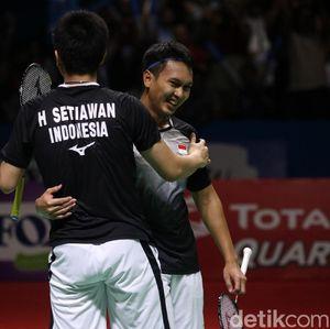 Mantap! Hendra/Ahsan Melaju ke Final Indonesia Open