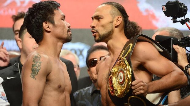 Pacquiao vs Thurman berebut gelar juara WBA Super 2019. (