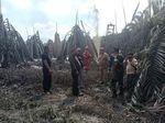 Gara-gara Pengeboran Ilegal, Sumur Minyak Semburkan Lumpur di Sumsel
