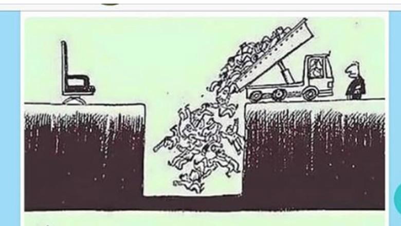 Media Prancis Bongkar Hoax Kartun yang Dikaitkan 700 KPPS Meninggal