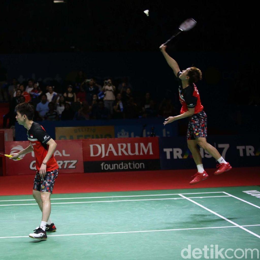 Target All Indonesian Final Tercapai, Herry Ngopi Lagi di Tribune?