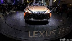 GIIAS 2019: Duh Cantiknya Mobil Konsep Lexus