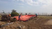 Pertamina Bersama Warga Bersihkan Pantai Sedari Karawang