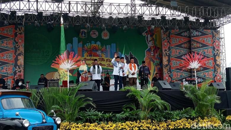 Sekda DKI Buka Festival Lebaran Betawi ke-12 di Monas
