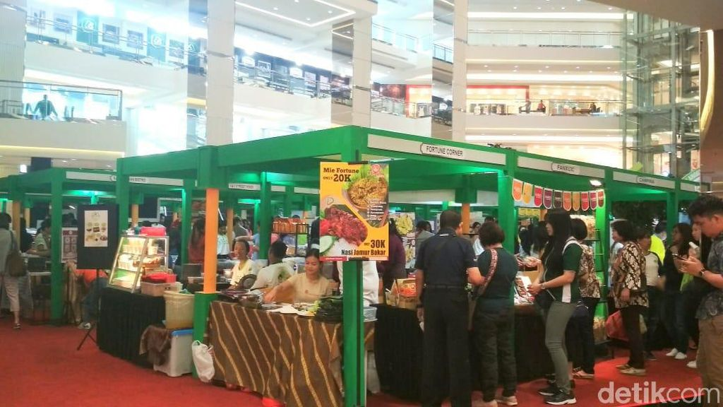 Festival Gaya Hidup Vegan Digelar di Mal Taman Anggrek