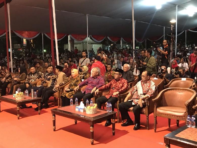 PDIP Gelar Syukuran Kemenangan Jokowi, Menhub-Kepala BMKG Hadir