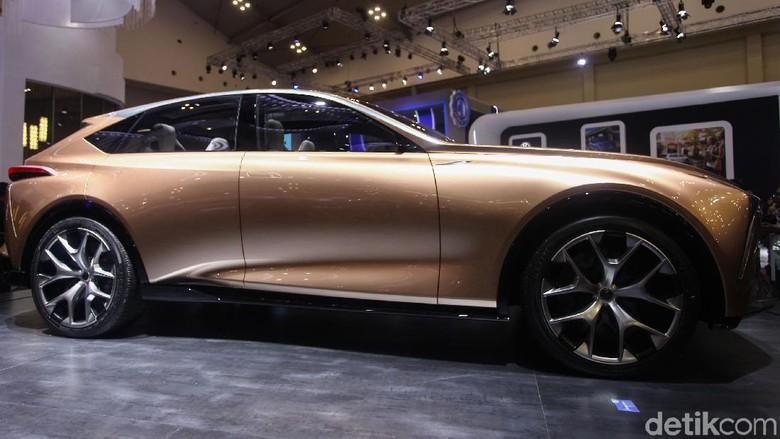 Mobil konsep Lexus Foto: Rifkianto Nugroho