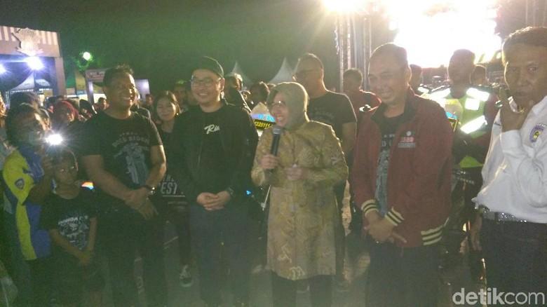 Wali Kota dan Kapolrestabes Surabaya Ajak Bikers Tertib Lalu Lintas