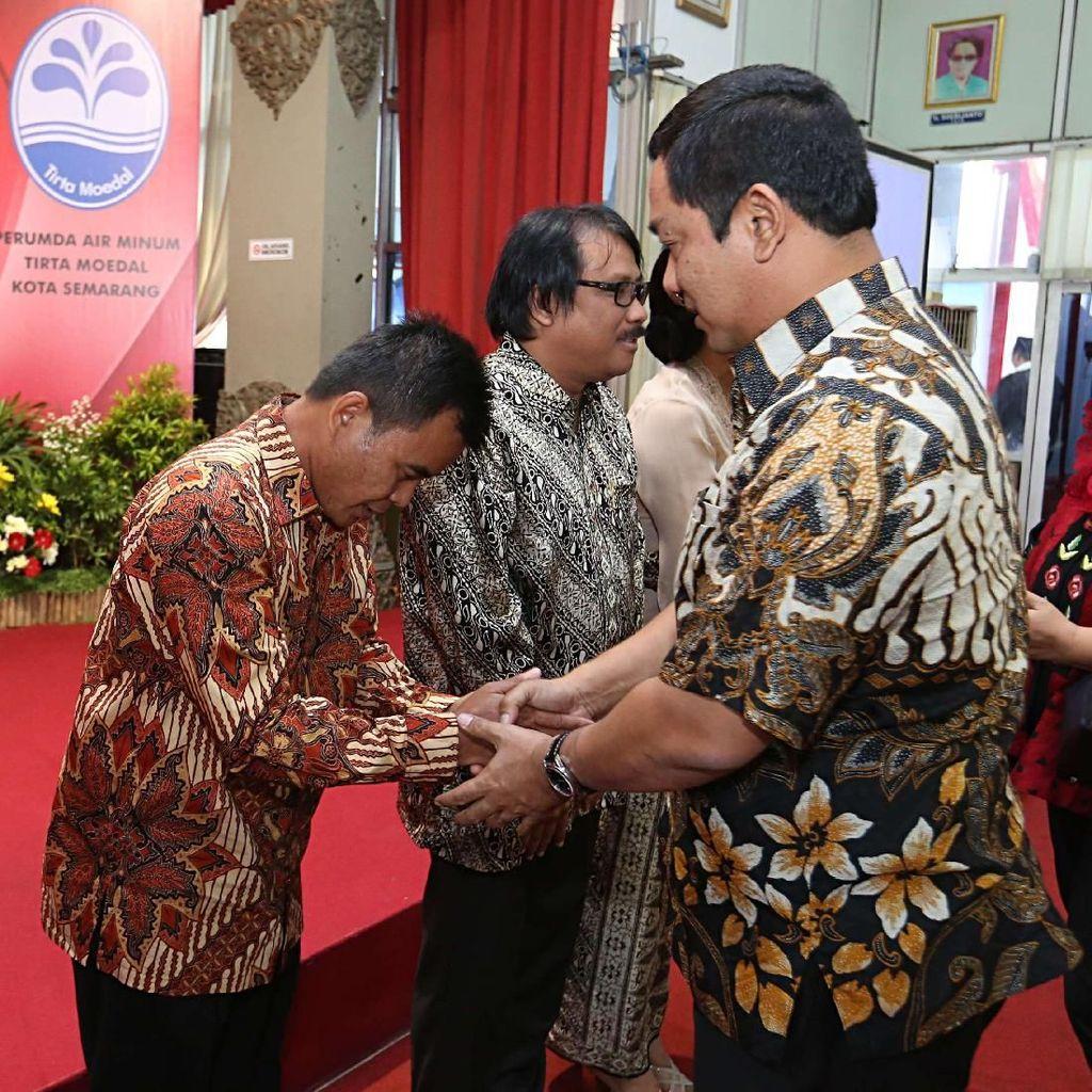 Lantik Direksi PDAM, Wali Kota Semarang: Jangan Ada Lagi Air Mati