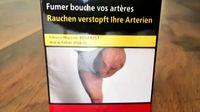 Pria Prancis yang Diamputasi Kaget Fotonya Muncul di Bungkus Rokok
