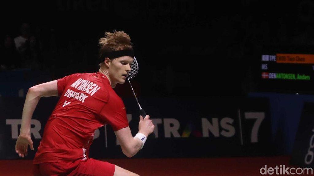Antonsen soal 3 Final dan Peluang Pertahankan Gelar Daihatsu Indonesia Masters