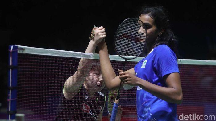 Akane Yamaguchi juara Indonesia Open 2019 di sektor tunggal putri. (Pradita Utama/detikSport)