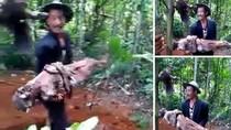 Keluarga Cari Perekam Video Pria Bongkar Makam-Bopong Jasad Ayah