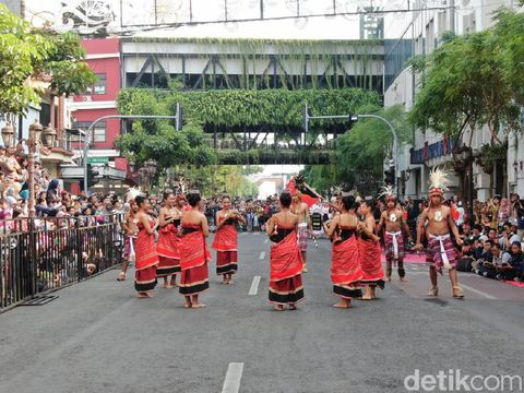 Atraksi di Surabaya Cross Culture Festival/