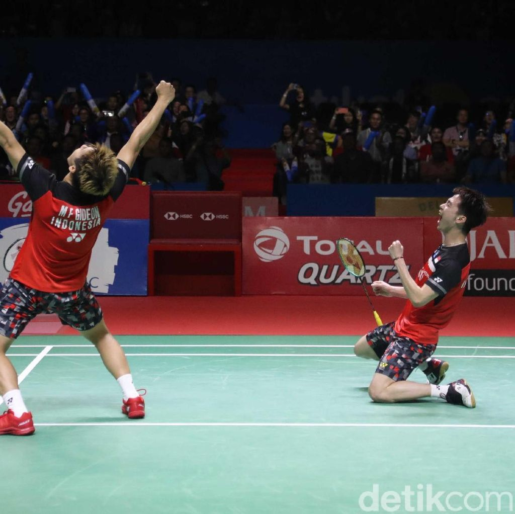 Video: The Minions Taklukkan Hendra/Ahsan di Final Indonesia Open