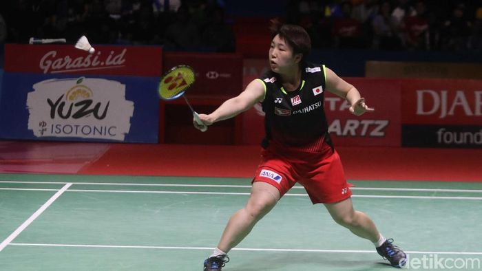 Akane Yamaguchi juara tunggal putri Indonesia Open 2019. (Pradita Utama/detikSport)