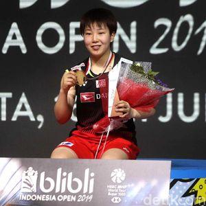 Juara Tunggal Putri Indonesia Open Jatuh Kepada Akane Yamaguchi