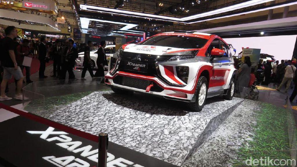 Melihat Spesifikasi Xpander Rifat Sungkar untuk Reli
