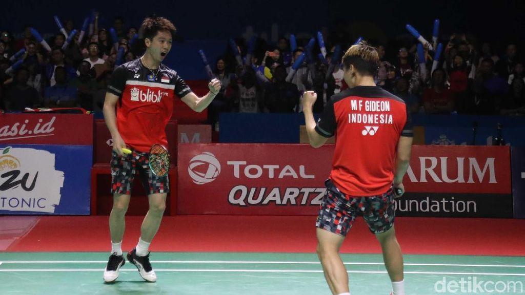 Kevin/Marcus Melaju ke Semifinal BWF World Tour Finals 2019
