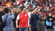 Nonton Persija Vs PSM, Anies Ditagih Stadion Lagi oleh Jakmania