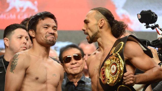 Manny Pacquiao hadapi Keith Thurman dalam perebutan gelar WBA Super kelas welter.