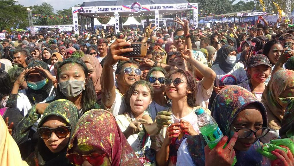 Kemeriahan Pesta Rakyat BYMS 2019 Berakhir di Makassar