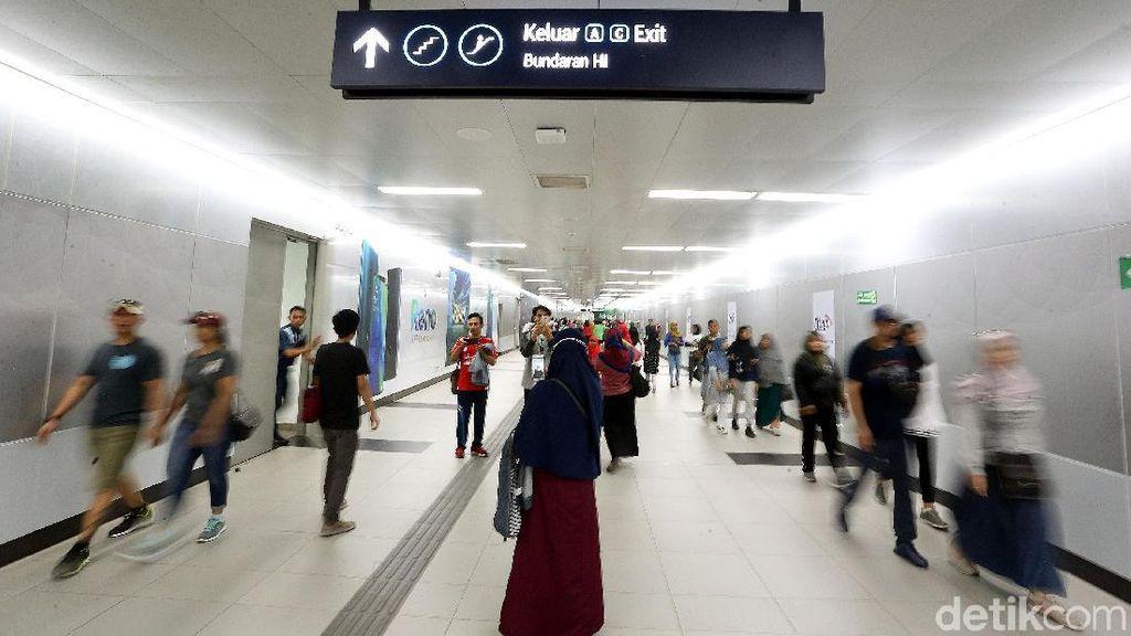 Ini Stasiun MRT Jakarta yang Dijual Paling Mahal