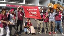 Final Piala Indonesia: The Jakmania dan Suporter PSM Berbaur Padati GBK