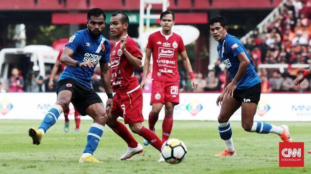 PSM Makassar kalah 0-1 dari Persija Jakarta di SUGBK.