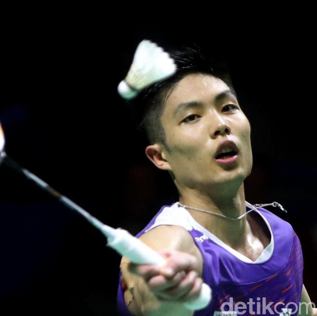 Chou Tien Chen Sabet Gelar Juara Tunggal Putra