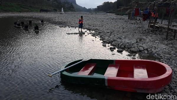 Traveler akan semakin dimanjakan dengan keindahan Sungai oya yang indah (Pradito/detikcom)