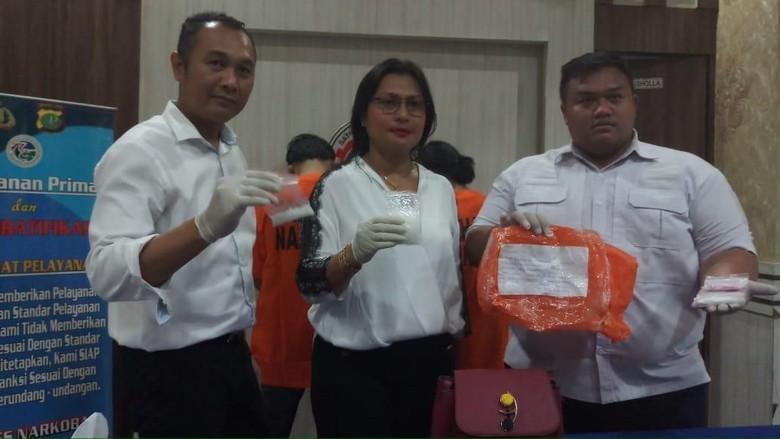 Titip Paket Isi Sabu, 2 Orang Pria Ditangkap Polisi