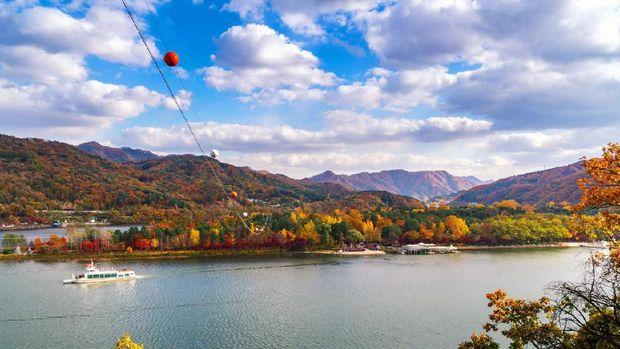 Pulau 'Winter Sonata' di Korea Berubah Rupa Tiap Musim