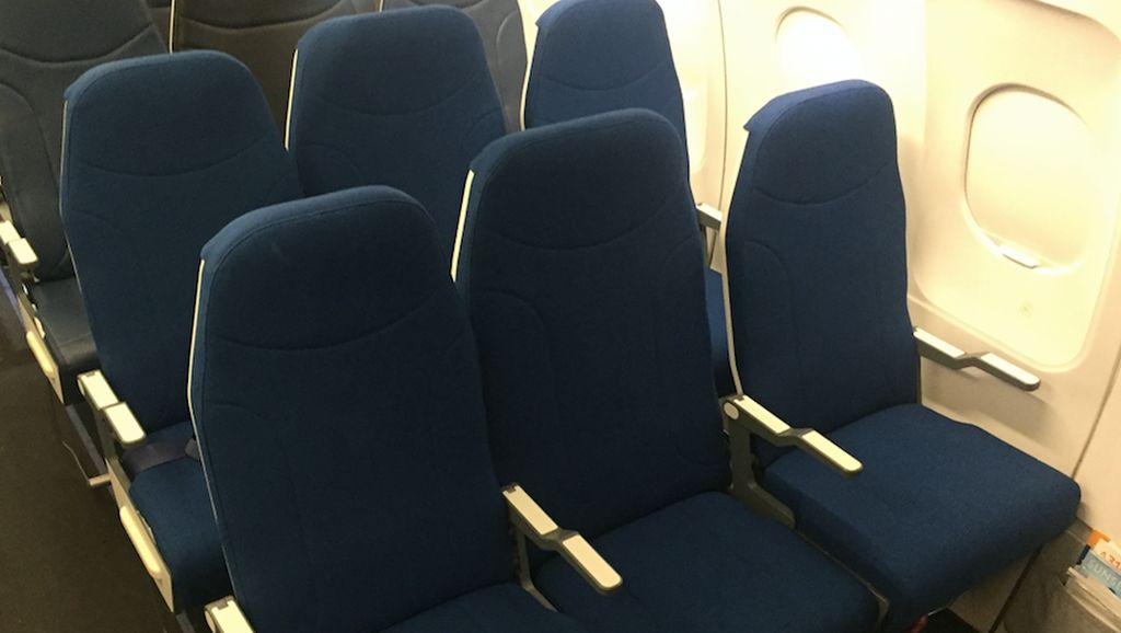 Tak Lagi Sengsara, Ini Inovasi Kursi Tengah Pesawat