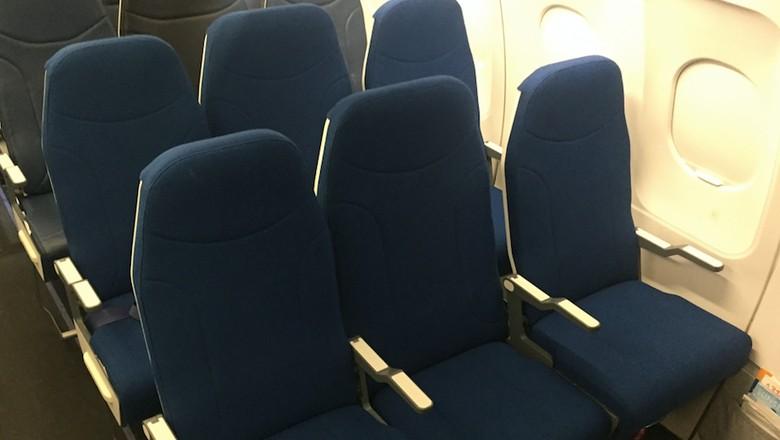 Inovasi kursi tengah di pesawat (dok Molon Labe Seating)