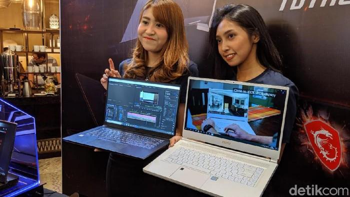 MSI Bawa Laptop untuk Content Creator