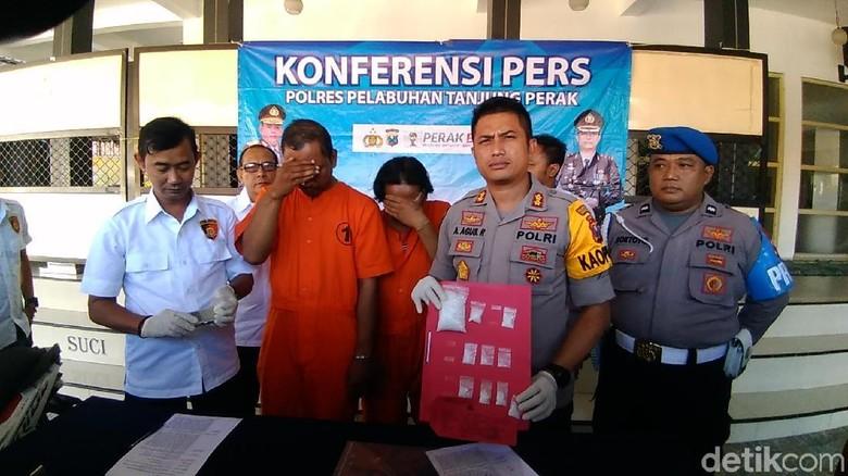 2 Pengedar Sabu di Surabaya Ditangkap dan Terancam Hukuman Mati