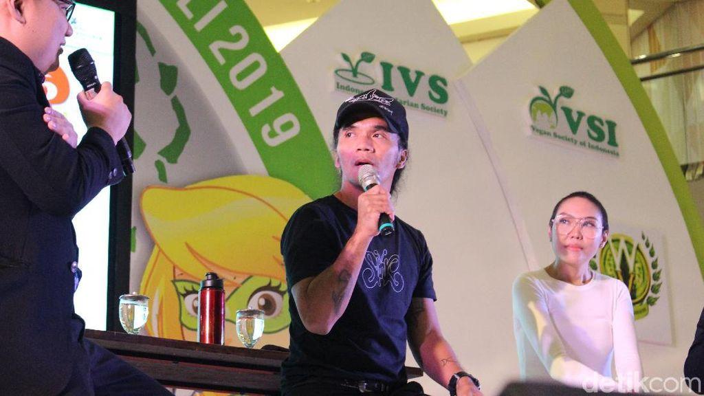 Transformasi Kaka Slank, Mantan Pecandu yang Jadi Pegiat Diet Vegan