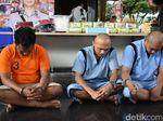 Polisi Tangkap 3 Orang Tersangka di Pekanbaru, Sita 14,5 Kg Sabu