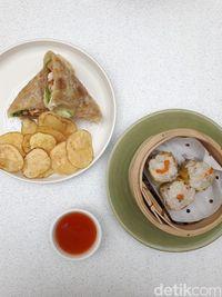 Chi Li: Mantul! Nasi Goreng Yang-chow dan Ayam Saus Wijen di Sini