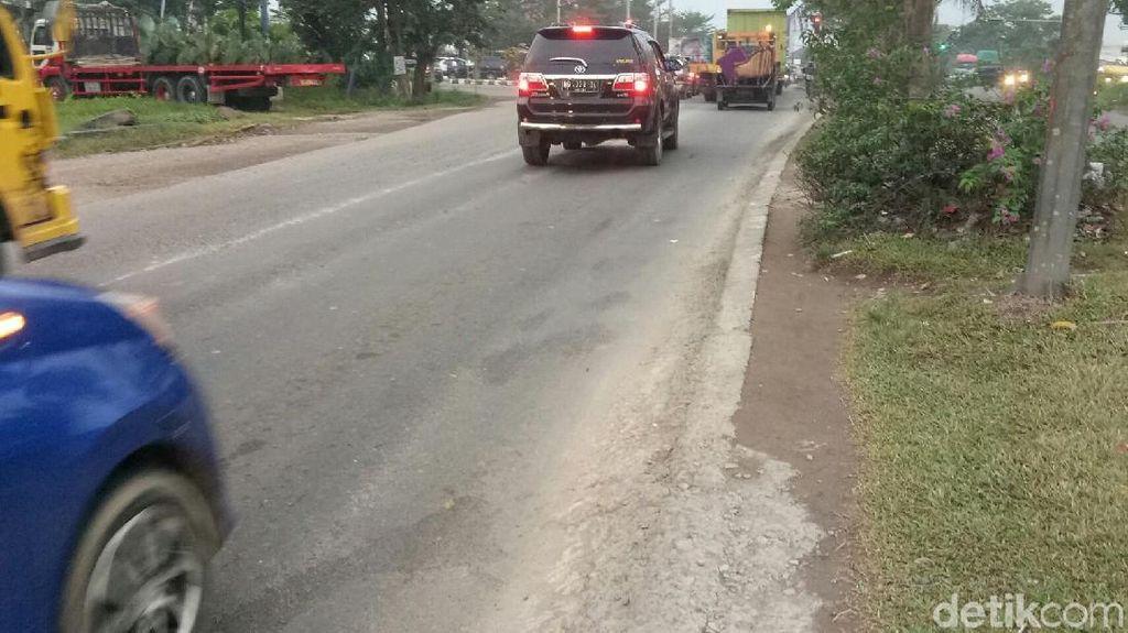 Sopir Truk Minta Polisi Tangkap Pemalak di Simpang Macan Palembang