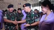 57 Pati TNI Naik Pangkat
