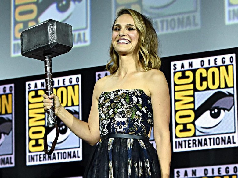 Natalie Portman bergabung di Thor: Love and Thunder. Foto: Alberto E. Rodriguez/Getty Images for Disney