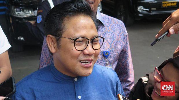 Wakil Ketua DPR Muhaimin Iskandar alias Cak Imin jadi pimpinan sidang sementara.