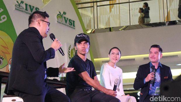 Menurut Kaka, Indonesia ibarat 'surga' bagi pegiat diet vegan.