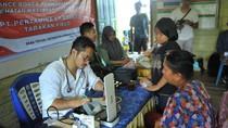 Pertamina EP Beri Pengobatan Gratis bagi Warga Desa Tepian Nunukan