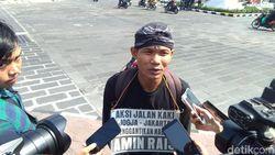 Gantikan Amien Rais Jalan Kaki Yogya-Jakarta, Lilik Ingin Ketemu Jokowi