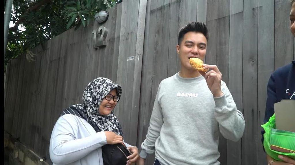 Istri Ngidam Sukun, Baim Wong Malah Beli Mie Ayam