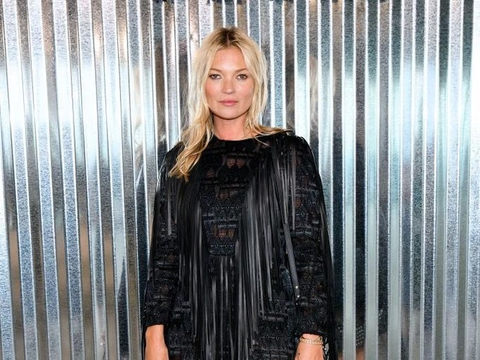 NEW YORK, NY - SEPTEMBER 08:  Kate Moss attends the Longchamp Spring/Summer 2019 Runway Show at World Trade Center on September 8, 2018 in New York City.  (Photo by Jared Siskin/Getty Images for Longchamp)